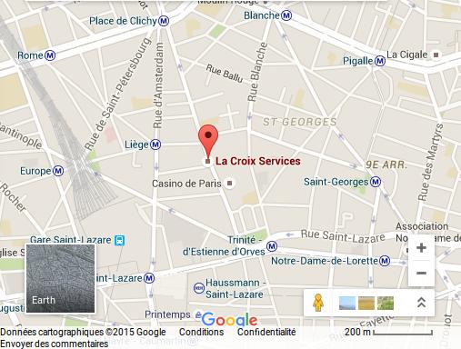 la croix services - maps